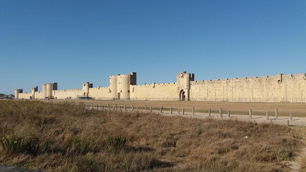 Les buis de Lussan sur les remparts de Lussan