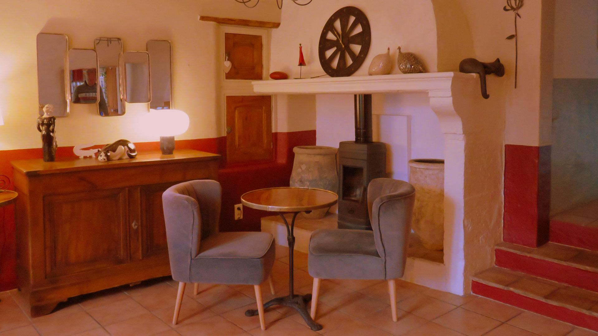 Les buis de Lussan | Salon de thé